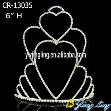 Heart Cheap Holiday Valentine's Day Crown
