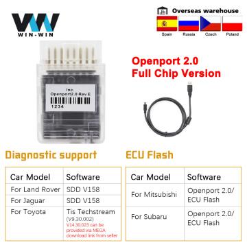 Tactrix Openport 2.0 ECU FLASH OBD 2 OBD2 open port 2 0 Chip Tuning Car Diagnostic Tool For Mercedes For Toyota Auto Scanner