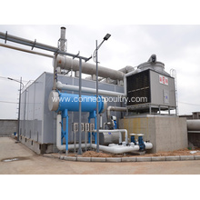 Rendering plant odor washer
