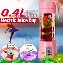 Portable Blender USB Mixer Electric Screw Juicer Machine Smoothie Blender Mini Food Processor Blender Cup Fruit Juicer Blenders