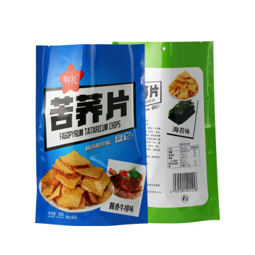 Custom Potato Chip Bags Digital Print Food-Grade Zipper-bag