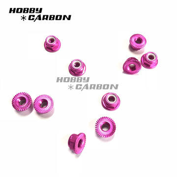 Aluminum sealing lock nuts