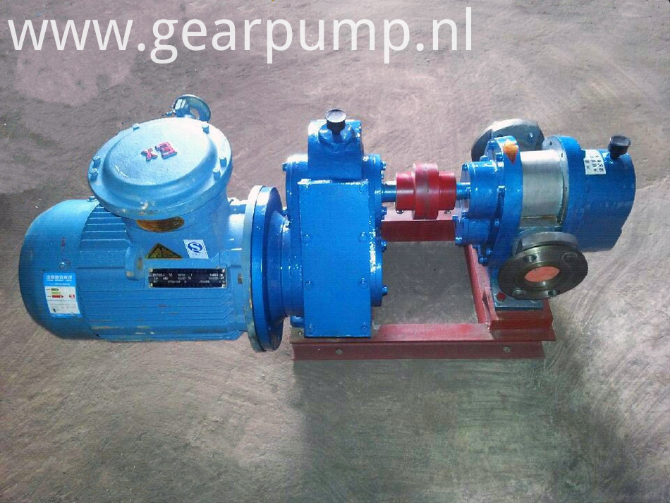 Heat preservation bitumen pump