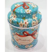 Blue Mushroom Tea Tin Box