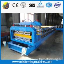 Steel Roll Forming Machine for Two Designs
