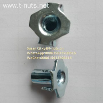 Zinc Plated Hopper Feed Riveted Tee Nuts
