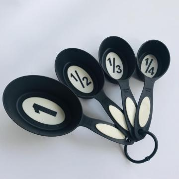 Set of 4 Oval Measuring Cups