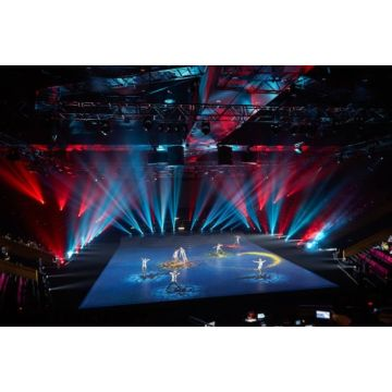 3D Holographic Projection foil for large event show