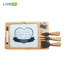 Rubber Board Cheese Knife Set