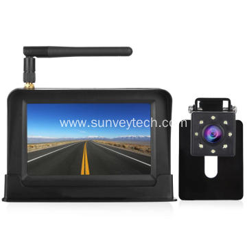 4.3Inch Wireless Monitor with  LED Night Vision Rear View Camera
