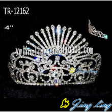 4 Inch AB Beauty Crowns Queen Crowns