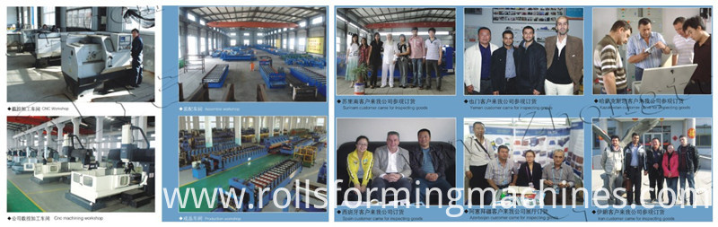 factory keel roll forming machine
