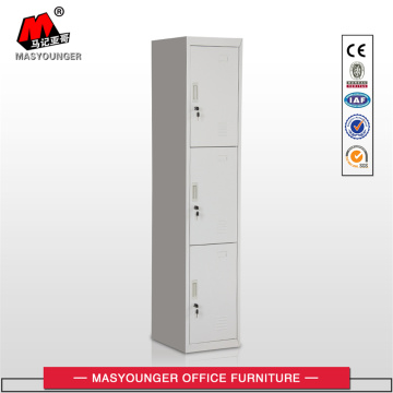 Pull and Push 3 doors Metal Locker