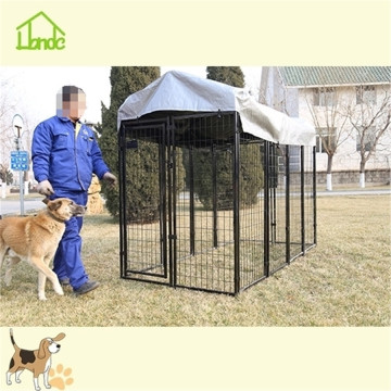 Large wire welded dog kennel runs