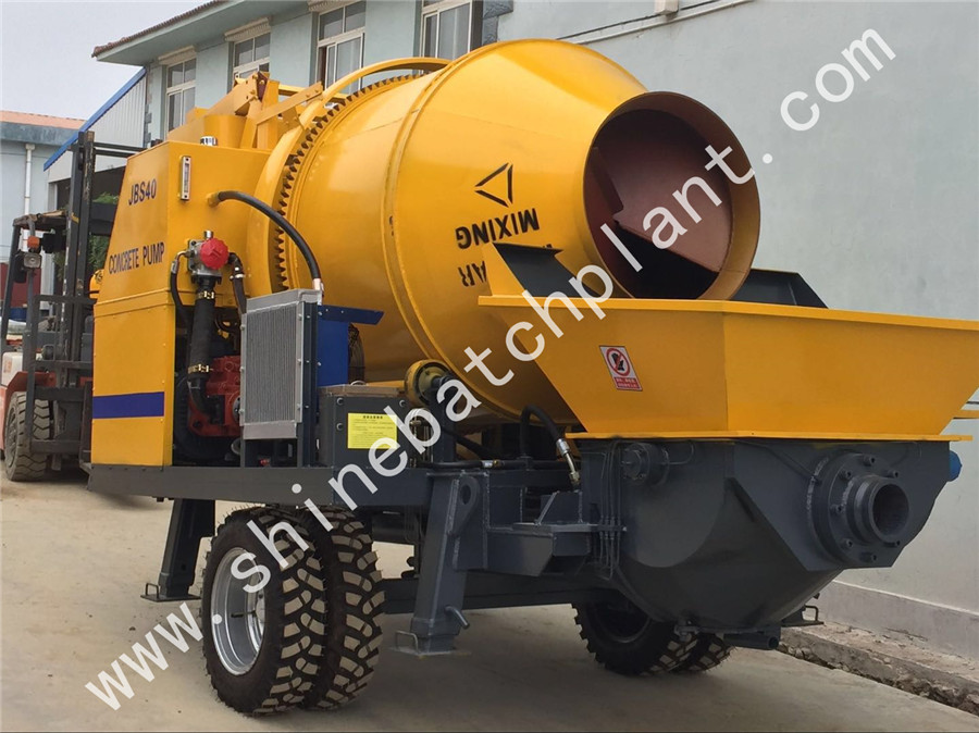 Concrete Mixer Pump