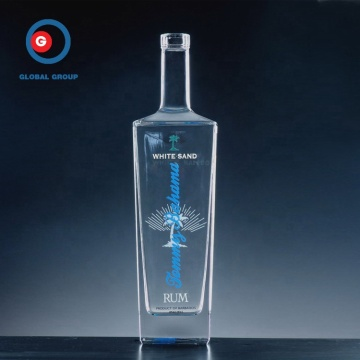 500ml Square Liquor glass bottle