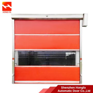 220V Automatic Roll Up High Speed Door