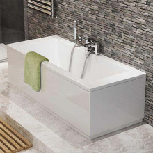 1800mm Square modern straight bathtub