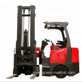 1500kg articulated narrow roadway electric forklift truck