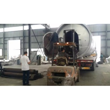 380V waste to tire oil pyrolysis machine