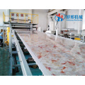 PVC UV MARBLE SHEET EXTRUSION MACHINE
