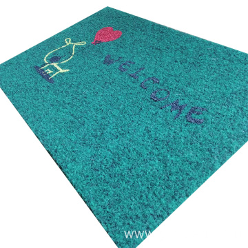 Hot sale toilet floor mat in rolls