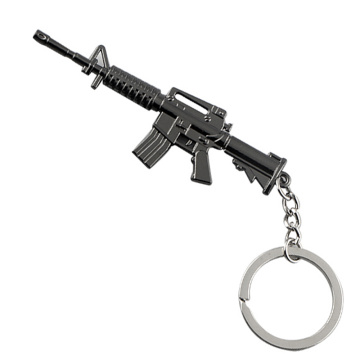 Novelty Design Promotional Metal Key chains Gun Shape