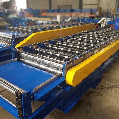 Automatic Glazed Tile Sheet Making Roll Forming Machine
