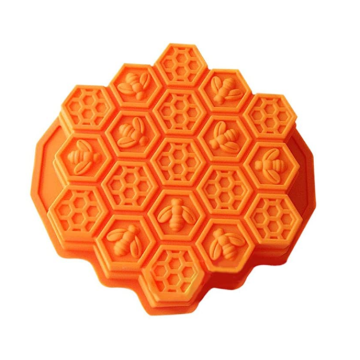 Flexible Creative Bee Honeycomb Silicone Cake Mold