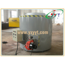 500kg Nature Gas Graphite Crucible Melting Furnace (YYT-RTL)