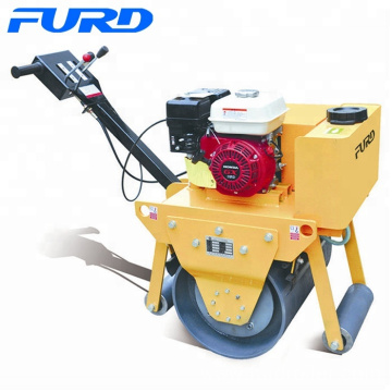 Petrol power small vibratory compactor roller ground compactor (FYL-600)