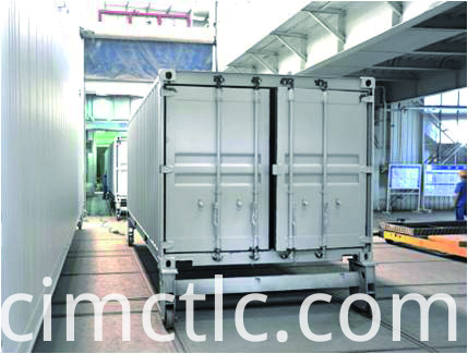 Painting Line for Solar Container Integrated Type