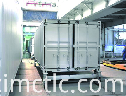 Painting Line for Offshore DNV Rated Generator Container