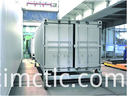 Painting Line for Battery Container Integrated Type