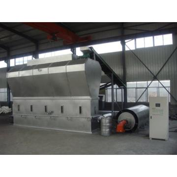 Horizontal Fluidizing Dryer for Foodstuff Industry
