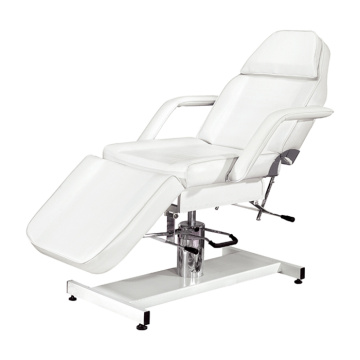 White Hydraulic Bed Spa Facial Furniture