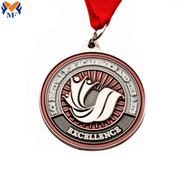 Personalized custom enamel with own logo medals