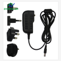 Charger Adapter DC 15V 1000mA Multi Plug 15W