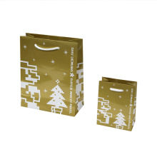 Present Shopping Packing Merry Christmas Paper Gift Bags