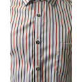 Mens Stripe Long Sleeve Shirt