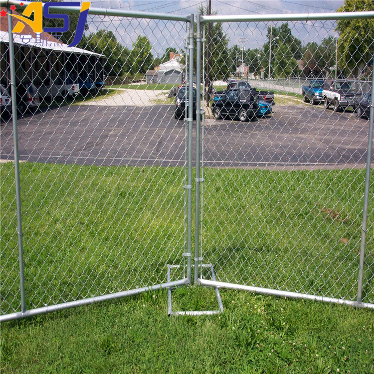 decorative diamond mesh chain link fence designs
