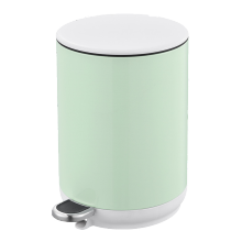 Colorful Bathroom Pedal Bin Set
