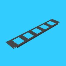 86 panels, backboard 5, rack panel, install empty board network socket, telephone cabinet panel mounting slot