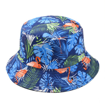 Wholesale wide brim polyester travel bucket hat