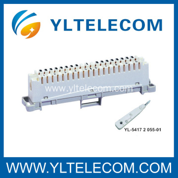 10 Pair Krone LSA Connection Disconnection Module