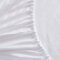 Cotton Blend Sateen Stripe Fitted Sheets