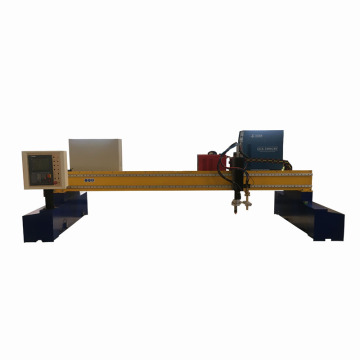 CNC gantry gas and plasma cutting machine