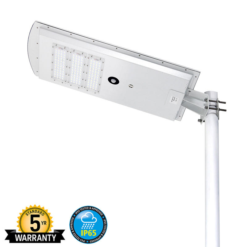 Solar Led Street Light With Pole (1)