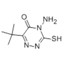 4-Amino-6- (tert-butyl) -3-mercapto-1,2,4-triazin-5 (4H) -on CAS 33509-43-2