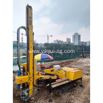 Hydraulic Drilling Jet Grouting Hole DTH Rock Crawler